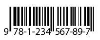 ISBN-13 Barcode